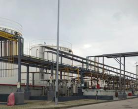 Planta de destilação de ENVIROIL